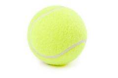 Tennis balls Stock Photography
