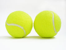 Tennis balls. On a white background Stock Photography