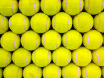 Tennis Balls. Display of Tennis balls pattern stock images