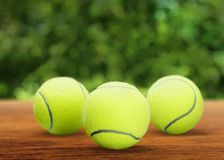 Tennis Balls. Tennis Ball Isolated White Bouncing Sphere royalty free stock photography