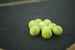 Tennis balls Stock Photo