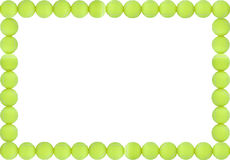 Tennis Balls Frame Stock Image Image Of Green Greeting 25572781