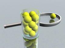 Tennis balls Royalty Free Stock Images