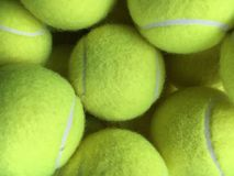Tennis Balls. Lots of tennis Royalty Free Stock Image
