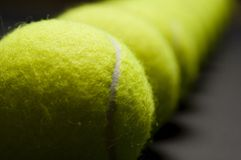 Tennis Balls Macro 4 Stock Images