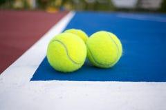 Tennis balls Stock Images