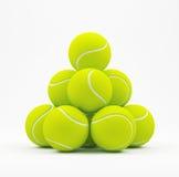 Tennis Balls On White Stock Photography