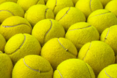 Tennis balls pattern Stock Images