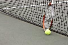 Tennis Balls and Racket Royalty Free Stock Image