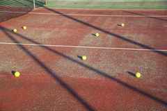 Tennis balls Royalty Free Stock Photography