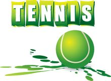 Tennis banner Royalty Free Stock Images