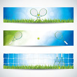 Tennis banners Royalty Free Stock Photos
