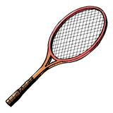 Tennis bat Royalty Free Stock Photo