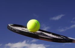 Tennis blue Royalty Free Stock Photos