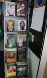 Tennis books on display at Billie Jean King Tennis Center during US Open 2014 Stock Images