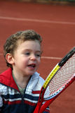 Tennis Boy Stock Image