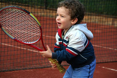 Tennis Boy Stock Photos