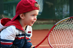 Tennis Boy Royalty Free Stock Photo