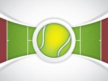 Tennis brochure Stock Images