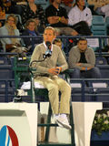 Tennis Chair Umpire Stock Photography