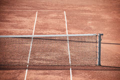 Tennis Clay Court Arkivbilder