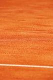 Tennis clay court detail Stock Photos