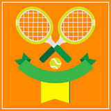 TENNIS ON CLAY COURT Stock Photography