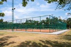 Tennis clay court. Royalty Free Stock Photos