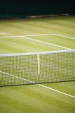 Tennis club. Tennis court detail with space for text Stock Photography