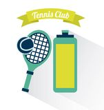 Tennis club Stock Photography