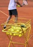 Tennis Coach Royalty Free Stock Image