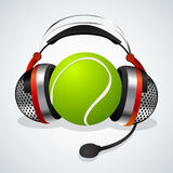 Tennis comentator Stock Images