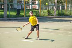 Tennis competition Royalty Free Stock Photos