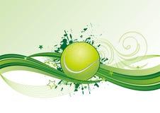 tennis con l'onda Fotografia Stock