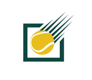 Tennis Concept Design Royalty Free Stock Photo