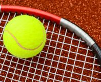 Tennis conceptual image royalty free stock image