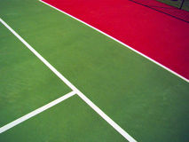 Tennis court. Detail of a tennis court stock image