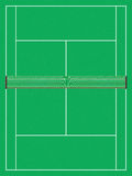 Tennis court. Top angle of a tennis court Stock Photos