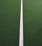 Tennis Court. This is an abstract of a Tennis Court split down the middle using the center line Royalty Free Stock Images