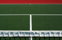Tennis court. Great for backgrounds or illustration of sports activities Stock Photography