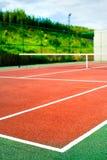 Tennis court. Empty tennis court, outdoor image Stock Image