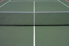 Tennis Court. Net and Lines for sports background Stock Image