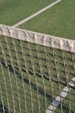 Tennis court. Close-up of net on an outdoor tennis court Stock Photo