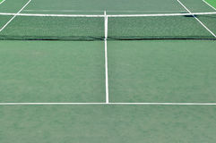 Tennis Court. Detail of a tennis court Royalty Free Stock Photos