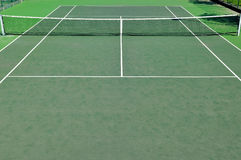 Tennis Court. Detail of a tennis court Royalty Free Stock Images