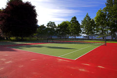 Tennis court Stock Image