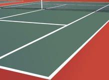 Tennis court. Image of empty Tennis court Stock Photos