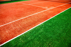 Tennis court Royalty Free Stock Photos