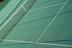 Tennis court. A green tennis fast court royalty free stock photos