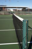 Tennis Court. View of a tennis court Royalty Free Stock Photos